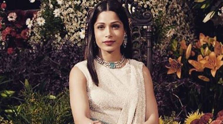 Freida Pinto is still on top of her fashion game. (Source: File photo)