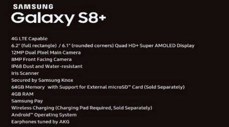 Galaxy S8+, Galaxy S8 Plus, Galaxy S8 Plus rumours, Galaxy S8+ specs leak, Galaxy S8+ Evan Blass, Galaxy S8+ rumours, Galaxy S8+ release date, Galaxy S8 Plus India release, Galaxy S8 India release, Galaxy S8 curved screens, technology, technology news