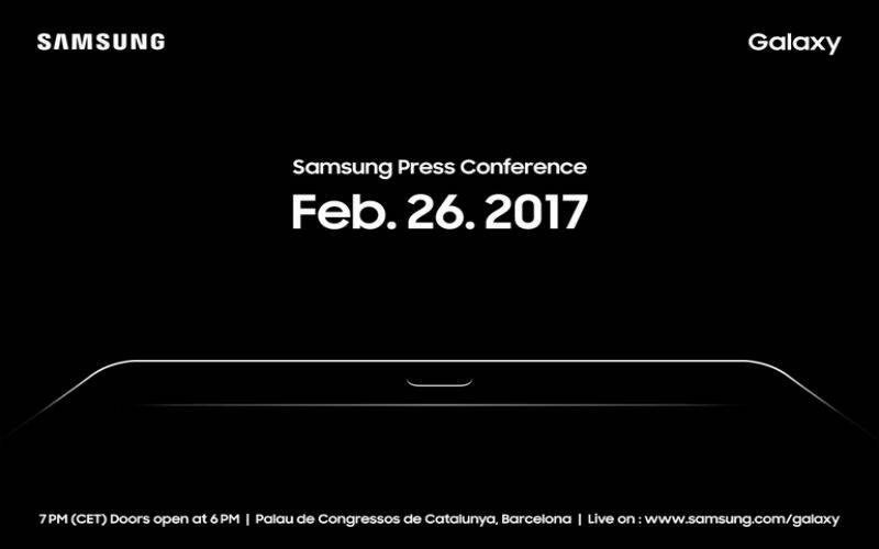 Samsung teases MWC with a tableaux of a tablet
