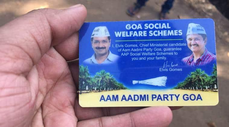 Elvis Gomes, Goa elections, goa polls, Elvis Gomes AAP, elvis gomes aap goa, aap goa, aap goa cm, aap elections, latest news, goa election news, latest goa polls, news, india news, politics, aap vs bjp, goa election news, indian express news