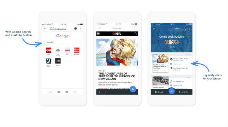 Google, Google Spaces app, Spaces shutting down, Spaces app, Spaces closing, Google closes Spaces, Google shuts Spaces, Google Allo, Google Assistant, Google , messaging app, smartphones, technology, technology news