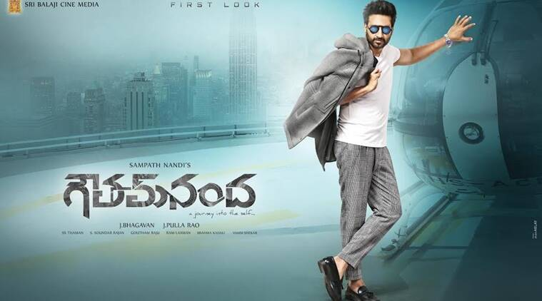 Gopichand's first look from Gautham Nanda