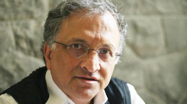 "Eminent scholar and Historian Ramachandra Guha will be delivering ""Samvatsar Lecture"" on February 23. (Express photo by Tashi Tobgyal)"
