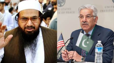 Don't blame us for Hafiz Saeed, he was your darling a few years ago: Pakistan toUS