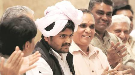 Gujarat drops case against Hardik Patel for 'insulting' tri-colour