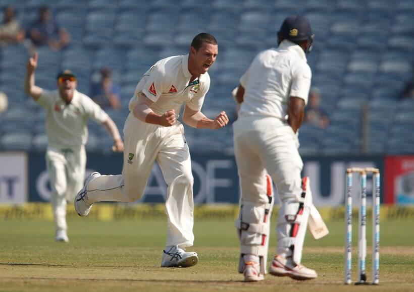 Australia have found out India's weak spot