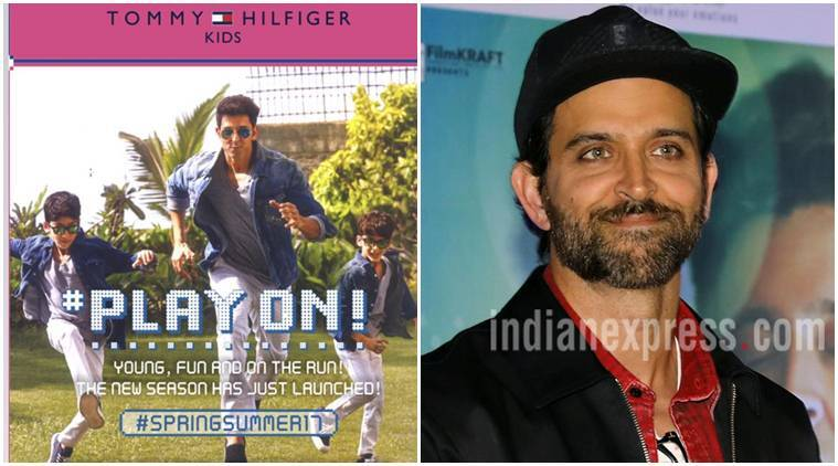 Hrithik Roshan is hopping mad at Tommy Hilfiger  His sons