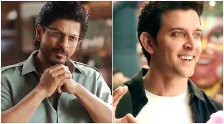 shah rukh khan, hrithik roshan, raees, kaabil, shah rukh khan raaes, hrithik roshan kaabil, kaabil box office collection, raees box office collection, raees vs kaabil, kaabil pakistan release, indian express news, indian express, bollywood
