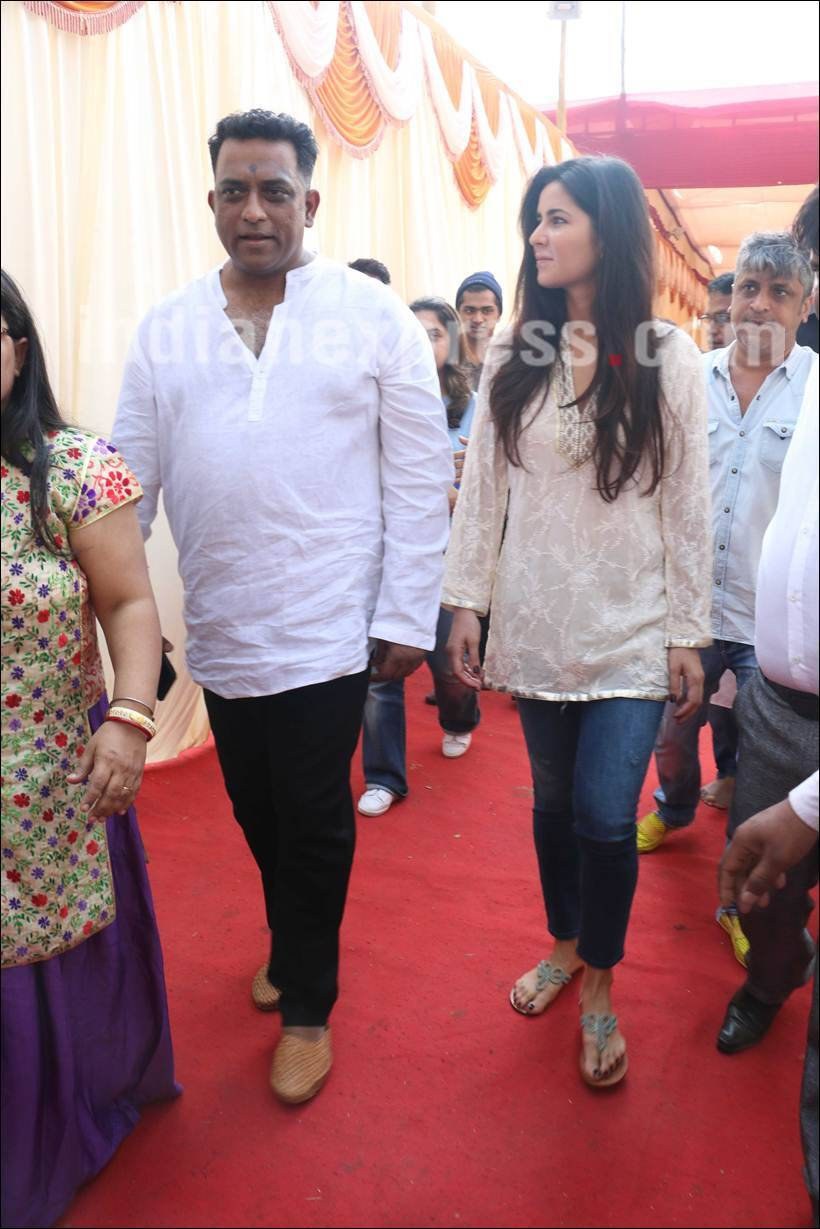 Ranbir kapoor on jagga jasoos i katrina kaif anurag basu have worked very hard on it the indian express - Katrina Kaif Anurag Basu Anurag Basu Saraswati Puja While Katrina Attended The Saraswati Puja Celebrations Jagga Jasoos Actor Ranbir Kapoor