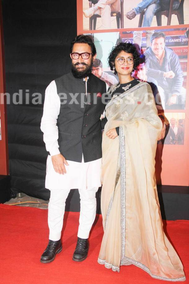 Dangal, dangal success party, dangal success bash, dangal party pics, dangal success party pics, dangal success party images, dangal aamir khan, aamir khan dangal, aamir khan images, aamir khan pics, aamir khan kiran rao, kiran rao aamir khan, alia bhatt, karan johar, arshad warsi, imran khan, aamir khan news, aamir khan party, bollywood, entertainment news, indian express, indian express news