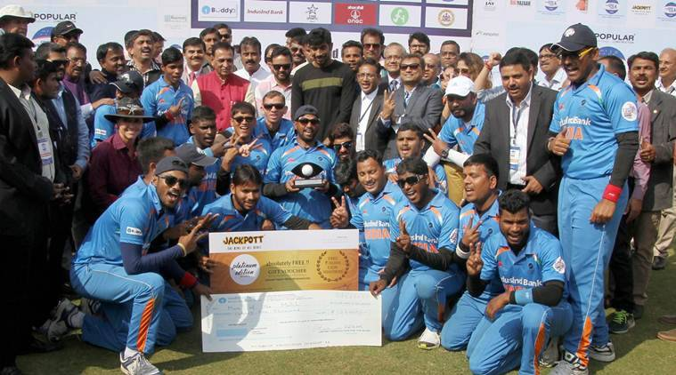 India vs Pakistan, Ind vs Pak, India Pakistan T20 World Cup blind, t20 blind world cup, india pakistan t20 blind world cup final, t20 world cup for the blind, t20 visually impaired world cup, india pakistan cricket, cricket news, blind cricket, sports news