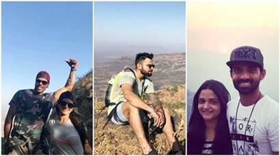 India vs Australia 2017: Virat Kohli and Team India revitalise by treakking near Pune