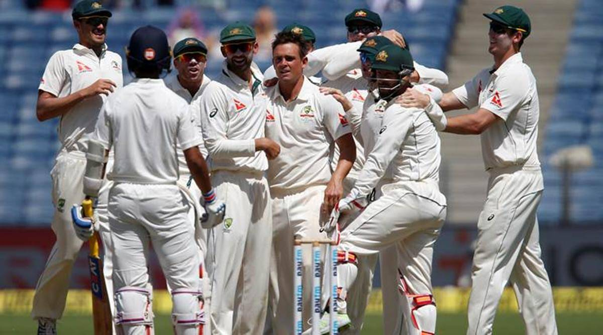 India vs Australia Test 2017: Australia's win after 13 years makes  headlines abroad | Sports News,The Indian Express