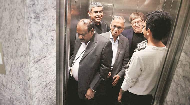 infosys, N R Narayana Murthy, Vishal Sikka, rajiv bansal, Nilesh Shah, Kotak Mutual Fund,Thomas Schmidheiny Centre for Family Enterprise, EBIT,Amarchand Mangaldas,india news, latest news, business news