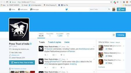 PTI's official Twitter account hacked, restored withinminutes