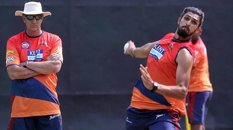Rising Pune Supergiants during Practice Session at PCA