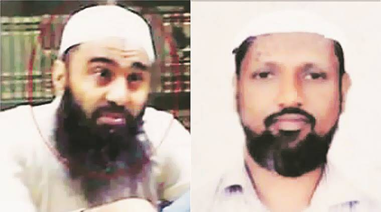 Arshi Qureshi (left), Rizwan Khan, co-accused in the case