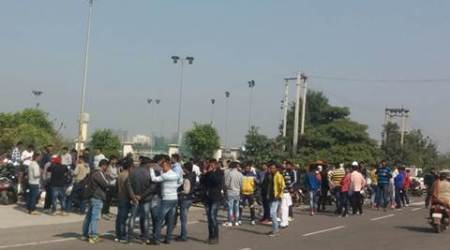 Jat quota agitation: In a first, students join stir inRohtak