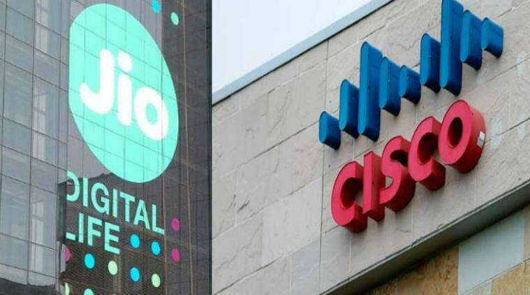 Reliance Jio, Cisco, All IP converged network, high speed data, VoLTE, digital commerce, Cisco, All-IP Digital Services Network,Jio All-IP digital platform,Cisco's Open Network Architecture,Cloud Scale Networking technologies,data centre, Wi-Fi, security,contact centre solutions, Technology, Technology news