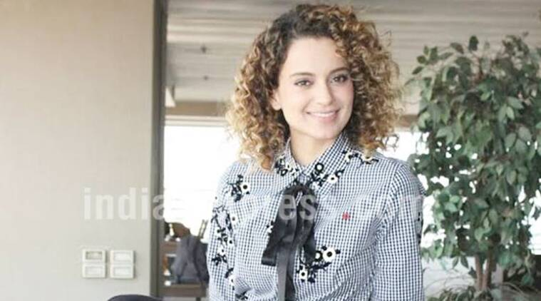 Kangana Ranaut is a self-styled icon. (Source: Varinder Chawla)