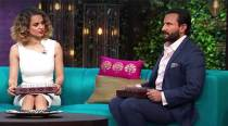 KWK 5: Queen Kangana & Saif keep the show royal