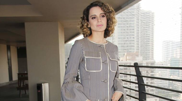 Kangana Ranaut in Fendi. (Source: Varinder Chawla)