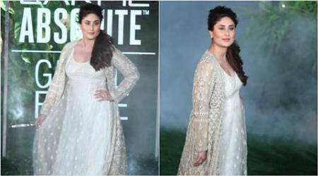 kareena kapoor, kareena kapoor lakme fashion week, kareena kapoor lfw, kareena kapoor ramp lfw, kareeena kapoor anita dongre lfw, kareena kapoor lfw anita dongre photos, kareena kapoor latest, indian express, indian express news, trending, trending in india, fashion