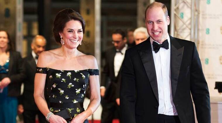 Deborah Mitchell prepped Kate Middleton's skin for the Baftas. In this photo, the royal can be seen at the venue. (Source: AP)