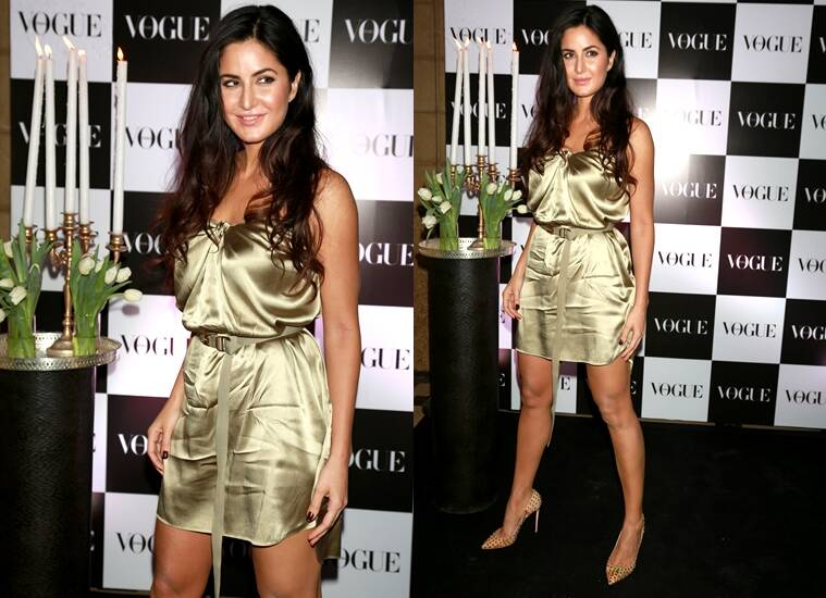 Katrina Kaif glitters in gold. (Source: APH Images)
