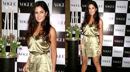 katrina kaif, katrina kaif fashion, katrina kaif glamorous look, katrina kaif vogue party, natasha poonawalla fashion, vogue party guest list, katrina kaif stunning look, katrina kaif alexis mabille, natasha poonawalla saint laurent, indian express, indian express news