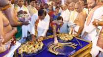 Telangana CM KCR makes another massive donation — gold ornaments worth Rs 5.6 cr — at Tirupati temple