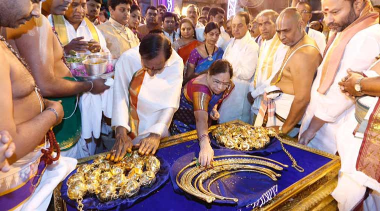 Telangana CM To Offer Jewels Worth Over ₹5 Crore To Tirupati Deity