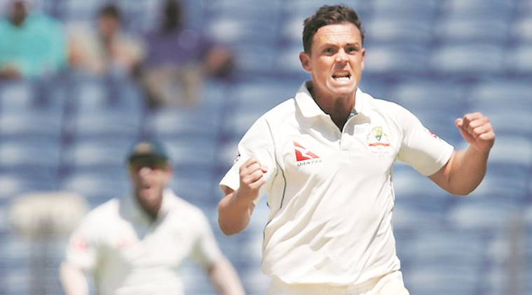 india vs australia, India australia cricket, STEPHEN O'KEEFE, Keefe, india vs aus, aussies, india, MCA, Shane Warne australia cricket, cricket, sports, indian express cricket