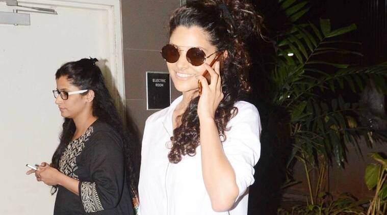 When it comes to fashion, Saiyami Kher likes to keep it simple. (Source: Varinder Chawla)