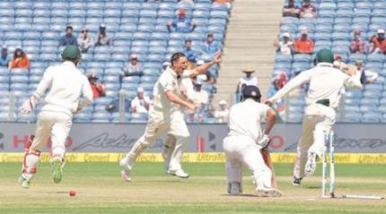 Ind vs Aus: India fail to cross Barrier O'Keefe