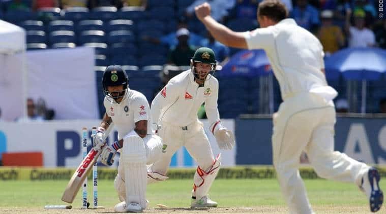 india vs australia 2017, ind vs aus, india vs australia test 2017, ind vs aus 2017, virat kohli, kohli, o'keefe, cricket news, cricket