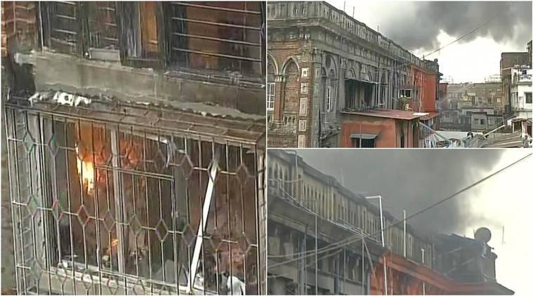 Fire destroys century-old building at Burrabazar