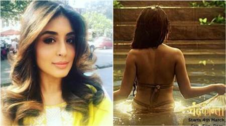 Kritika Kamra, Kritika Kamra chandrakanta, Kritika Kamra chandrakanta tv serial, chandrakanta tv series, chandrakanta star cast, chandrakanta ekta kapoor, kritika kamra on chandrakanta, Kritika Kamra chadrakanta training, television news, television updates, entertainment news, indian express, indian express news