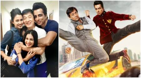 Kung Fu Yoga: Sonu Sood, Amyra Dastur share why Jackie Chan was unlike anyone they've worked before. Watchvideos