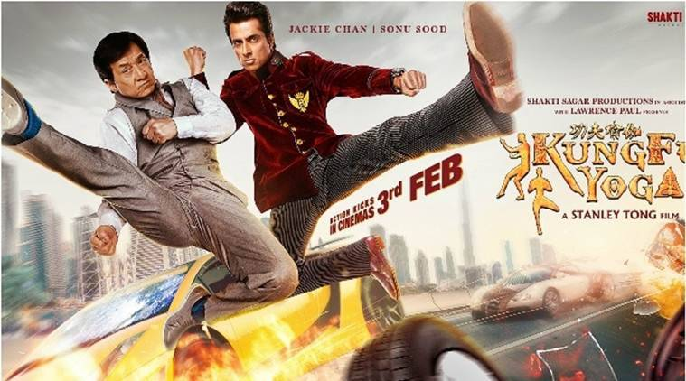 Kung Fu Yoga movie review, Kung Fu Yoga review, Kung Fu Yoga, Kung Fu Yoga movie, Jackie Chan, Jackie Chan film stills, Disha Patani, Amyra Dastur