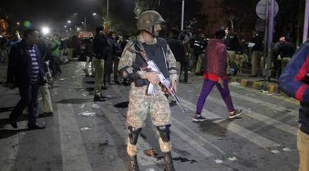 Blast near provincial assembly in Lahore, at least 16 killed