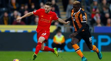 Since moving to Anfield, Lallana has made 117 appearances for Liverpool, scoring 20 goals (Source: Reuters)