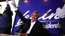 Exit polls see Ecuador leftist ahead, runoff unclear