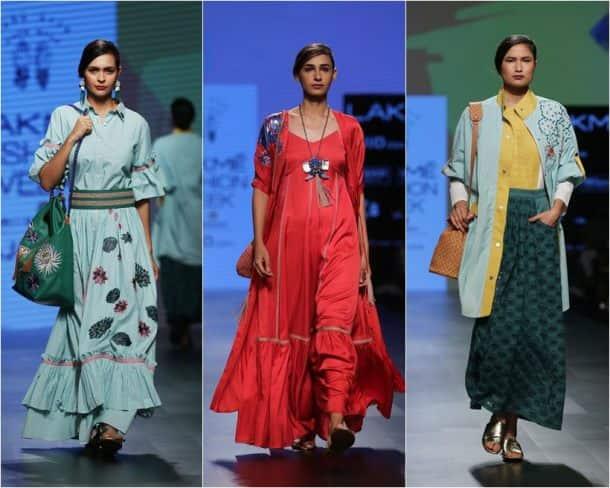 Lakme fashion week, LFW 2017, LFW 2017 day 4, Day 4 LFW 2017, LFW S/R 2017, LFW 2017 Day 4 collections, karishma kapoor, Padma Lakshmi, Aditi Rao Hydari, Urvashi Rautela, fashion news, LFW 2017 photos