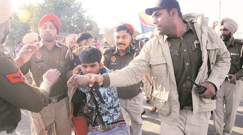 Ludhiana hit-and-run case: Protesters block traffic, pelt stones on cops; ambulances stopped