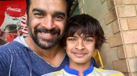 R. Madhavan is proud of his son Vedant's swimming talent and is showing off for the world to see