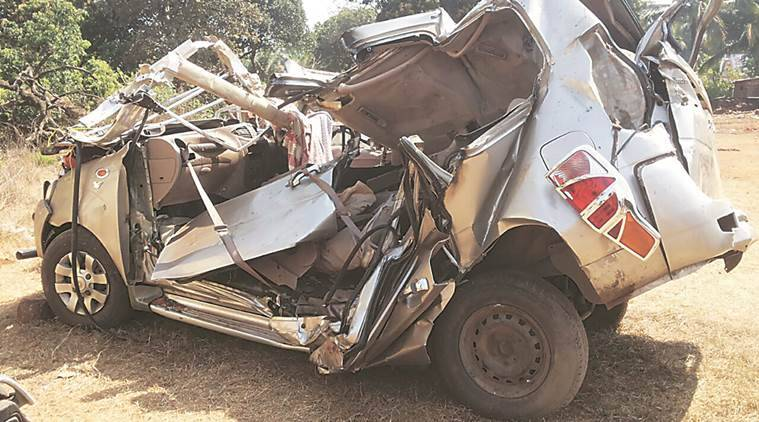 goa mumbai highway deaths goa mumbai highway road accident maharashtra road accident