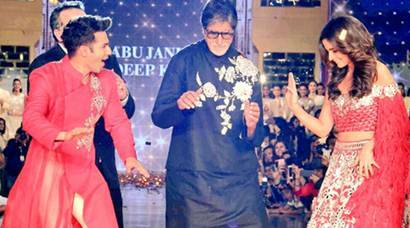 When Alia Bhatt, Varun Dhawan made Amitabh Bachchan dance