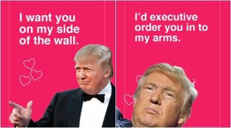 These Donald Trump Valentine's Day cards are brilliant!
