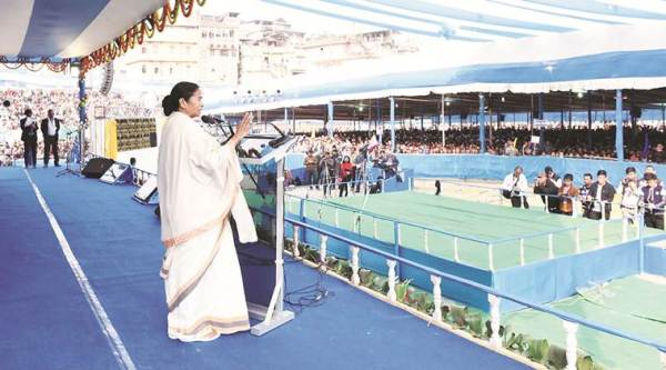 In Kalimpong on Tuesday. Photo courtesy: Mamata Banerjee's Twitter handle